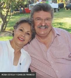 ??  ?? ROSA ESTELA Y CARLOS FRANCO