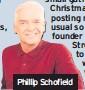 ??  ?? Phillip Schofield