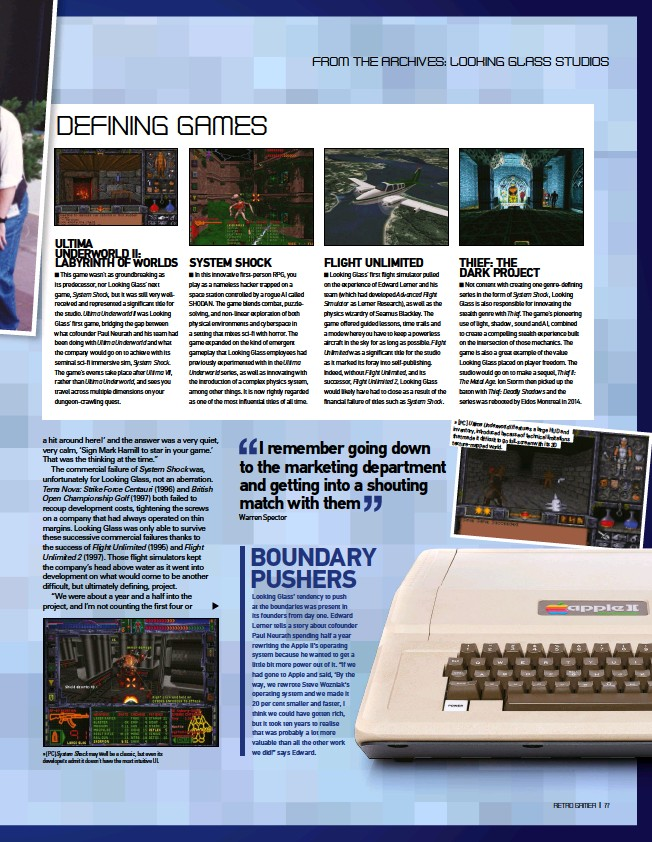 ??  ?? » [PC] System Shock may well be a classic, but even its developers admit it doesn't have the most intuitive UI. » [PC] Ultima Underworld inventory, II features a large introduced because HUD and that made it of technical difficult to limitations go...