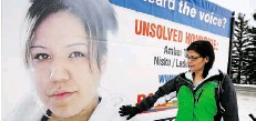 ?? Supplied ?? Amber Tuccaro disappeared in August 2010. Her remains were found in 2012, outside Leduc, in the same area where Delores Brower's remains were found this month.
