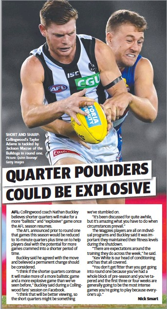 Pressreader Sunshine Coast Daily 2020 04 07 Quarter Pounders Could Be Explosive