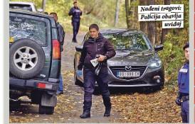 ??  ?? Nađeni tragovi: Policija obavlja uviđaj