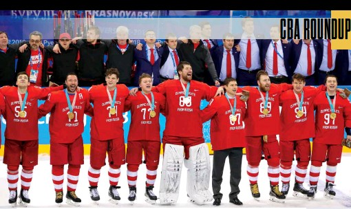 ??  ?? GOLD OR GREEN? The Games went on without NHLers, but the IIHF wants them back. The NHL won't bite without financial incentive.