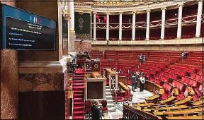 ??  ?? Le vote solennel de la loi contre le «séparatisme» est prévu ce mardi.