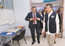 ??  ?? Científico de la NASA visitó la Universidad Autónoma de Chiapas.