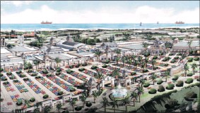 ??  ?? Artist's impression of south Durban's new Galleria shopping centre.