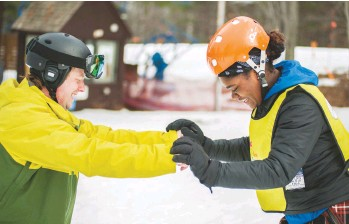 ??  ?? Grantees like YES and Sky Tavern rely not just on Share Winter to fund their programs, but their greater communities as well. It's a team effort.