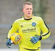 ??  ?? Forfar goalkeeper Marc Mccallum