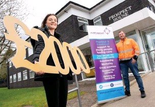 ??  ?? ●●Pure Insight, Stockport, has won £2,000 from the Cadent Foundation