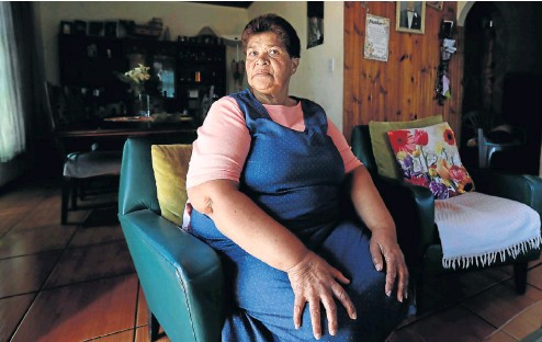 ?? Pictures: Esa Alexander ?? Loretta Steyn of Belhar in Cape Town has discovered that hypertension has taken a heavy toll on her family.