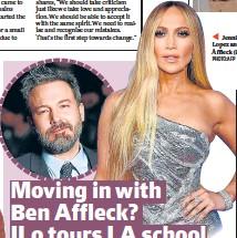 ?? PHOTO: AFP ?? Jennifer Lopez and Ben Affleck (inset)