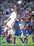 ??  ?? Levante-Real Madrid, de la J2.