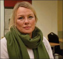 ??  ?? Jurista Laila Susanne Vars Kárášjoga eatnama joavkku čoahkkimis 21.04.21 Sápmiko viesus.