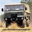 ??  ?? …but a 101 Forward Control might not