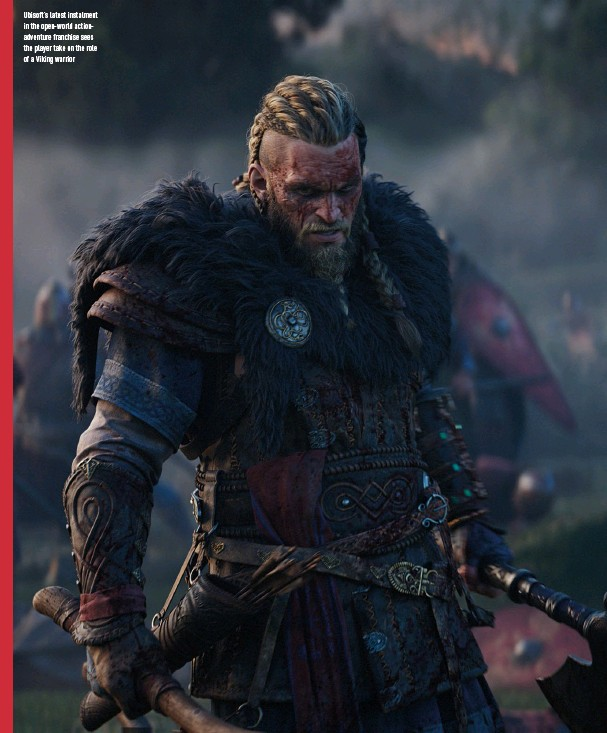 ??  ?? Ubisoft's latest instalment in the open-world actionadventure franchise sees the player take on the role of a Viking warrior