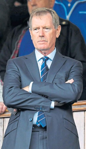 ??  ?? OVER AND OUT: Dave King officially steps down as Rangers chairman