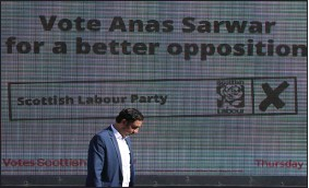 ??  ?? Anas Sarwar's chances of becoming First Minister after the next election look slim