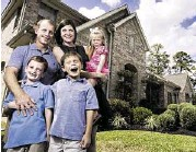 ?? J. Patric Schneider ?? Dan and Gayle Patton moved to an Humble subdivision for a larger home and better schools for their three kids, Cole, 6, Brady, 8, and Lyla, 4.