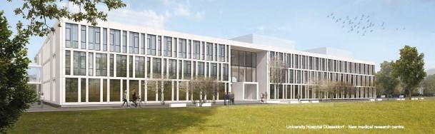 ??  ?? University Hospital Düsseldorf - New medical research centre.