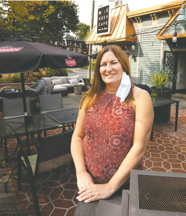 """?? Alle n Mcinnis / MONTREAL GAZETTE ?? """"We know we can do this,"""" says Montreal restaurateur Christine Booth, who says her business was able to adapt on the fly during the dark days of March and April."""