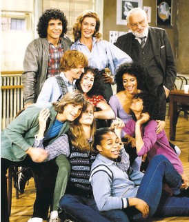 """?? Gary Null / NBCUniversal ?? The cast of the """"Fame"""" television series. In one episode, the '80sera series pointed out the racism of a ballet teacher."""