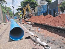 ??  ?? La Essap promete no dejar sin agua a usuarios desde 2021.