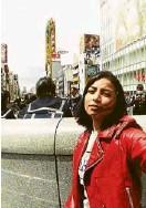 ??  ?? Glaiza de Castro in Osaka, Japan