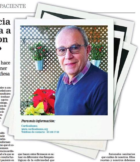 ?? LA RAZÓN ?? Para más información: Cardioalianza www.cardioalianza.org Teléfono de contacto: 93 106 17 59