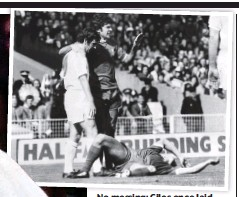 ??  ?? No messing: Giles once laid out Kevin Keegan (above) and (below) with the late Stiles
