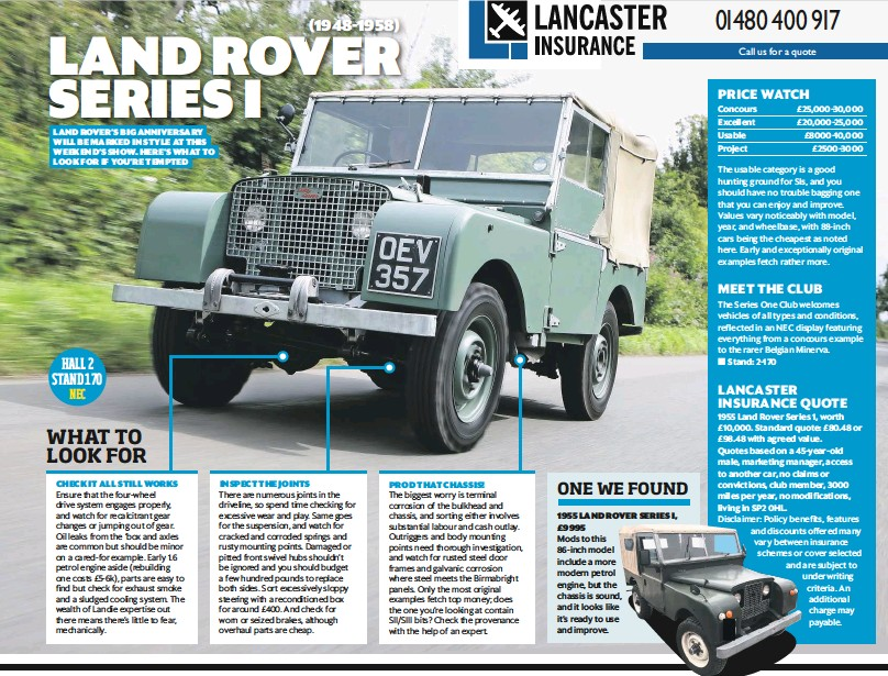 Pressreader Classic Car Weekly Uk 2018 11 07 Land Rover Series I