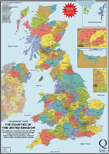 Plain Map Of Ireland.Pressreader This England 2019 02 06 The True Historic Counties