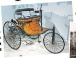 ??  ?? Un modelo del automóvil, exhibido en el Petersen Automotive Museum de Los Ángeles