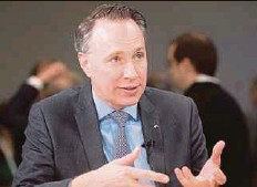 ?? BLOOMBERG PIC ?? Axa chief executive officer Thomas Buberl is ramping up dealmaking after less than two years in office.