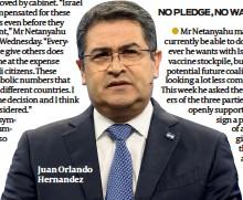 ??  ?? Juan Orlando Hernandez