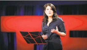 ??  ?? Monica Lewinsky was disinvited from an event because Bill Clinton chose to attend.