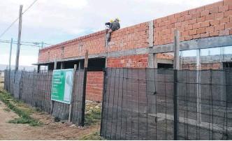 ??  ?? LAOBRA DE la Escuela Media Nº 10 supone una inversión de 42 millones de pesos.