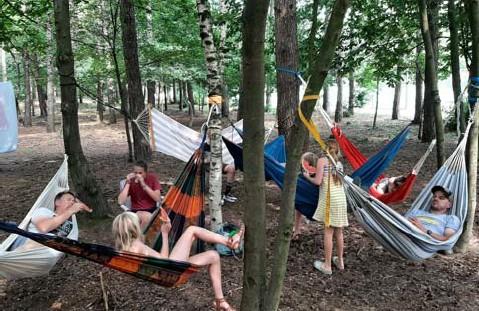 ?? FOTO LODE VAN STEENBERGE ?? Op de camping van De Lilse Bergen in Gierle is geen plaats meer vrij.