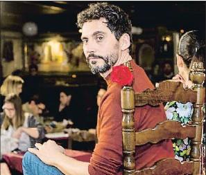 ?? MOVISTAR+ ?? Paco León, durante el encuentro con medios en un tablao de Madrid