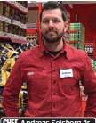 ??  ?? CHEF. Andreas Selsborg är ny butikschef för Willys som inom kort öppnar i Väsby Centrum.