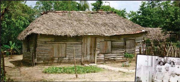 ??  ?? nybyggarhus. Så här enkelt levde de finländska nybyggarna på Kuba. Efter ett tag blev tillvaron svårare än många tänkt sig. FOTO: LARS ALDMAN