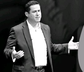 ??  ?? En su primer informe de gobierno, el gobernador de Guanajuato, Diego Sinhue Rodríguez Vallejo, afirmó que los cuatro estados que conforman el Bajío, serán la principal potencia económica de México. José González