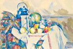 ??  ?? Record breaker: Cézanne's still life is poised to break the record for a watercolour by the French artist