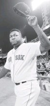 ?? DARREN MCCOLLESTER/GETTY IMAGES ?? Ex-Red Sox player David Ortiz was shot in the back Sunday in the Dominican Republic.