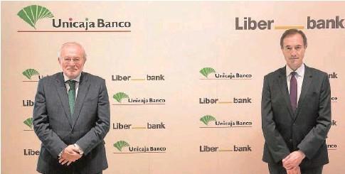 ?? // ABC ?? Manuel Azuaga, presidente del banco fusionado, y el CEO, Manuel Menéndez