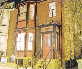 ?? KEITH GOSSE/THE TELEGRAM ?? This house at 32 Queen's Road has been given a heritage award from the city of St. John's. The house has been restored its mid-19th century structure, which predates the Great Fire of 1892.