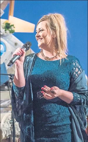 ??  ?? JENNY LINDSAY: Poet joins musicians for Nether:Land cine-poem performances. Picture: Chris Scott