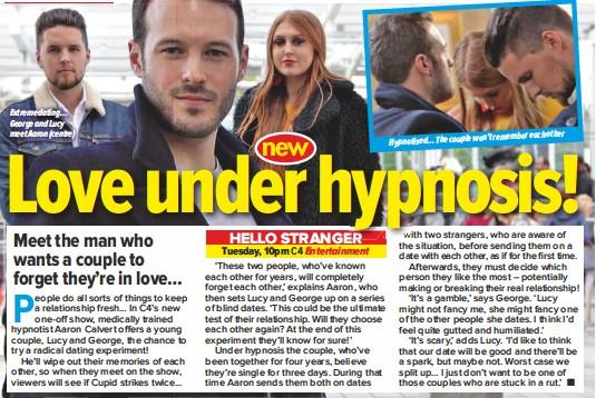 Hypnotized dating