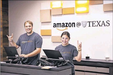 ?? Amazon.com ?? Amazon named 20 finalists, including Dallas and Austin, for its HQ2 and said it expects to select a winning city this year. It plans to eventually hire up to 50,000 highly paid employees, so it puts a priority on talent and education.