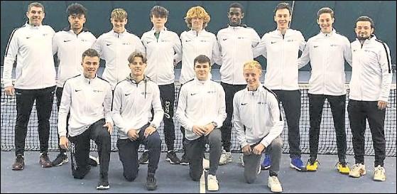 ??  ?? Junior team of the year under-18 boys