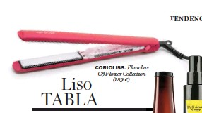 ??  ?? CORIOLISS. Planchas C3 Flower Collection (189 €).